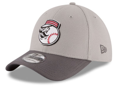 Cincinnati Reds New Era MLB Team Grayed 39THIRTY Cap