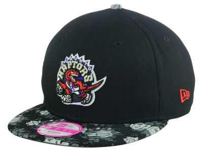 Toronto Raptors New Era NBA Women's Snap Bloom 9FIFTY Snapback Cap