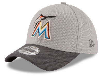 Miami Marlins New Era MLB Team Grayed 39THIRTY Cap