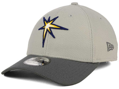 Tampa Bay Rays New Era MLB Team Grayed 39THIRTY Cap