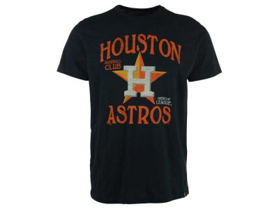 Houston Astros MLB Men's Scrum Logo T-Shirt