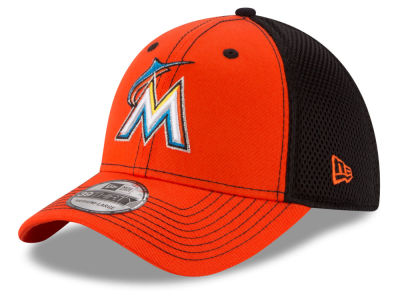Miami Marlins New Era MLB Team Front Neo 39THIRTY Cap