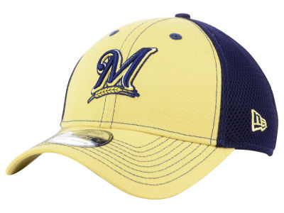Milwaukee Brewers New Era MLB Team Front Neo 39THIRTY Cap
