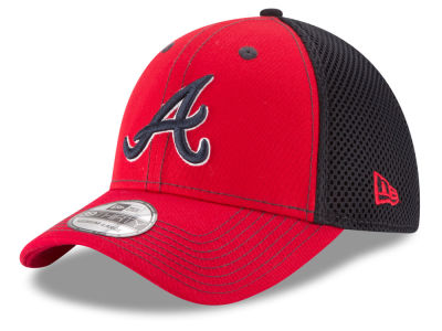 Atlanta Braves New Era MLB Team Front Neo 39THIRTY Cap