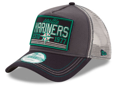 Seattle Mariners New Era MLB Trucker Tear 9FORTY Snapback Cap
