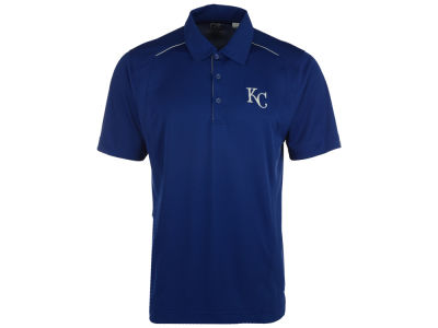 Kansas City Royals MLB Men's Drytec Foss Hybrid Polo Shirt