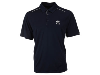 New York Yankees MLB Men's Drytec Foss Hybrid Polo Shirt