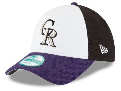 Colorado Rockies New Era MLB Perforated Block 9FORTY Cap