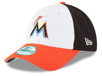 Miami Marlins New Era MLB Perforated Block 9FORTY Cap