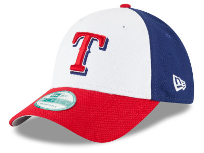 Texas Rangers New Era MLB Perforated Block 9FORTY Cap