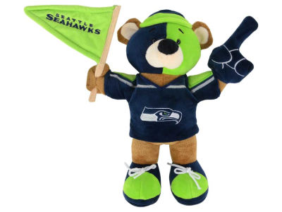 Seattle Seahawks 10inch Fan Bear