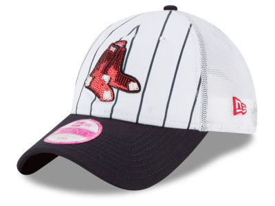 Boston Red Sox New Era MLB Women's Trucker Lust 9TWENTY Cap
