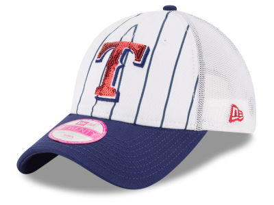 Texas Rangers New Era MLB Women's Trucker Lust 9TWENTY Cap