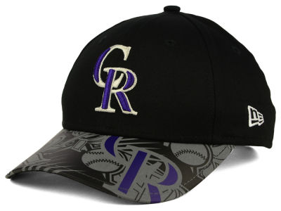 Colorado Rockies New Era MLB Youth Reflect Fuse 9FORTY Cap