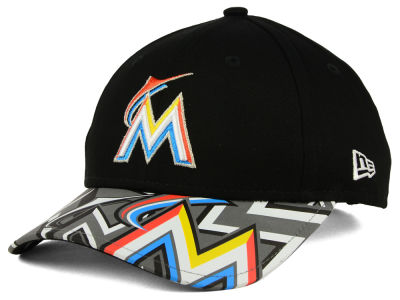 Miami Marlins New Era MLB Youth Reflect Fuse 9FORTY Cap