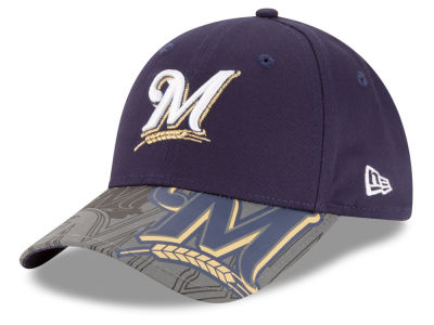 Milwaukee Brewers New Era MLB Youth Reflect Fuse 9FORTY Cap