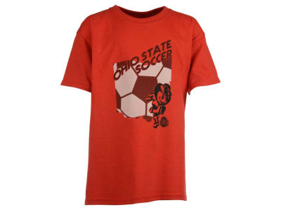 Ohio State Buckeyes NCAA Youth Front Line State Soccer T-Shirt