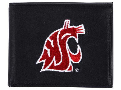 Washington State Cougars Black Bifold Wallet