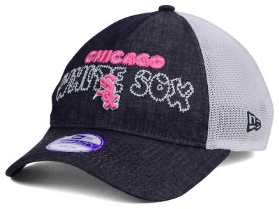Chicago White Sox New Era MLB Youth Denim Stitcher 9TWENTY Cap