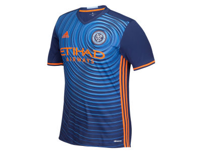 New York City FC adidas MLS Men's Secondary Replica Jersey