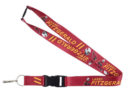Arizona Cardinals Larry Fitzgerald Aminco Player Lanyard