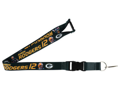 Green Bay Packers Aaron Rodgers Player Lanyard