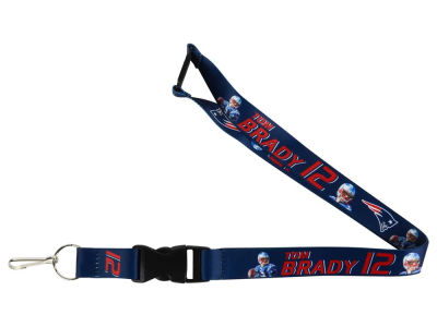 New England Patriots Tom Brady Player Lanyard