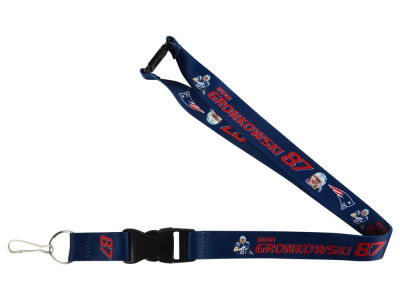 New England Patriots Rob Gronkowski Player Lanyard