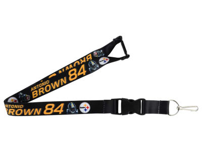 Pittsburgh Steelers Antonio Brown Player Lanyard
