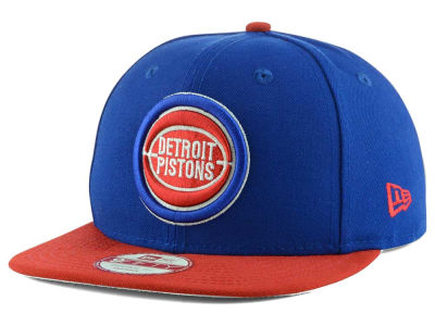 Detroit Pistons New Era NBA HWC Stock 9FIFTY Snapback Cap