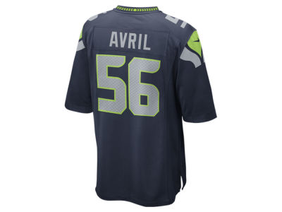 Seattle Seahawks Cliff Avril Nike NFL Men's Game Jersey