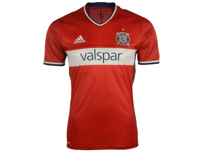 Chicago Fire adidas MLS Men's Primary Authentic Jersey