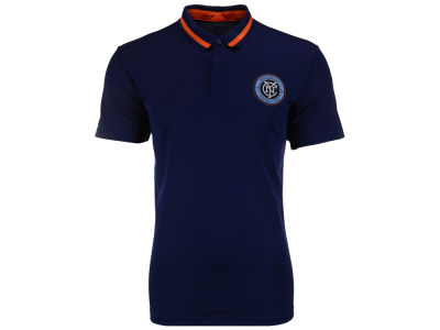 New York City FC adidas MLS Men's Team Polo 2016
