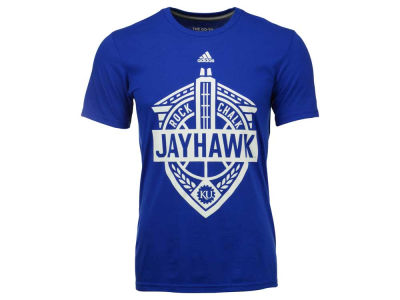Kansas Jayhawks adidas NCAA Men's Landmark Crest Performance T-Shirt