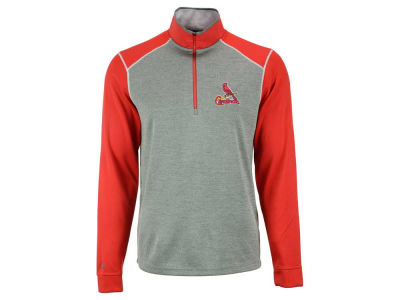 St. Louis Cardinals MLB Men's Breakdown 1/4 Zip Pullover Shirt