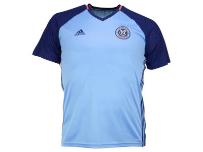 New York City FC adidas MLS Men's Pre-Game Training Top