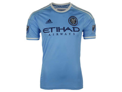 New York City FC adidas MLS Men's Primary Authentic Jersey