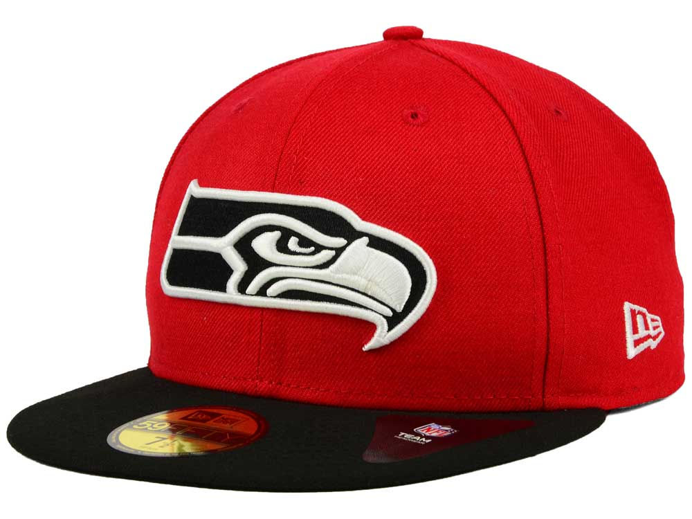 2d1828b8e ... official store seattle seahawks new era nfl colors 59fifty cap 9af2c  d36c0
