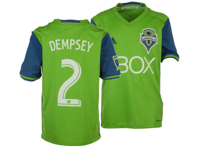 Seattle Sounders FC Dempsey adidas MLS Youth Primary Replica Player Jersey