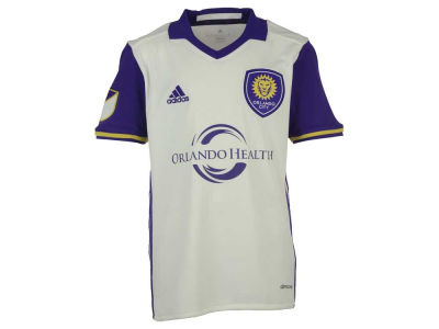Orlando City SC adidas MLS Youth Secondary Replica Jersey