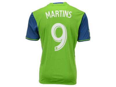 Seattle Sounders FC Obafemi Martins adidas MLS Men's Primary Replica Player Jersey