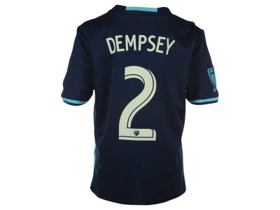 Seattle Sounders FC Clint Dempsey adidas MLS Youth Third Short Sleeve Replica Player Jersey
