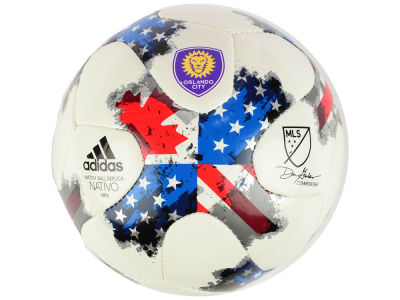 Orlando City SC adidas MLS Mini Soccer Ball