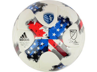 Sporting Kansas City adidas MLS Mini Soccer Ball