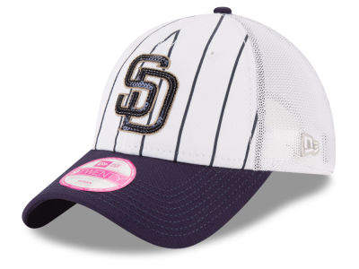 San Diego Padres New Era MLB Women's Trucker Lust 9TWENTY Cap