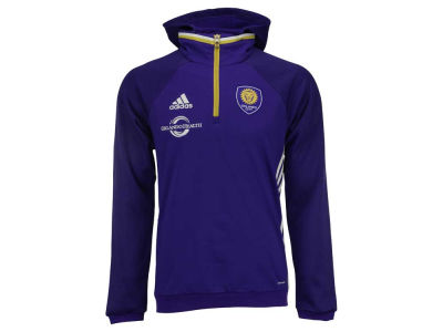 Orlando City SC adidas MLS Men's Pullover Travel Hoodie