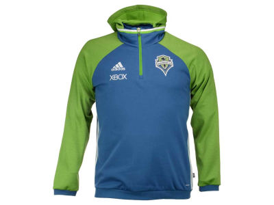 Seattle Sounders FC adidas MLS Men's Pullover Travel Hoodie