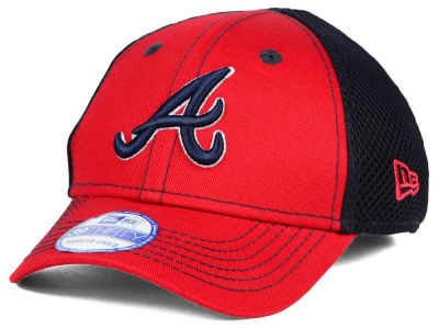 Atlanta Braves New Era MLB Jr Team Front Neo 39THIRTY Cap
