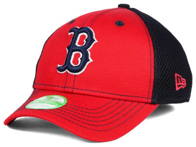 Boston Red Sox New Era MLB Jr Team Front Neo 39THIRTY Cap