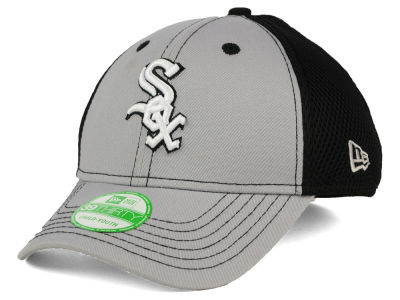 Chicago White Sox New Era MLB Jr Team Front Neo 39THIRTY Cap